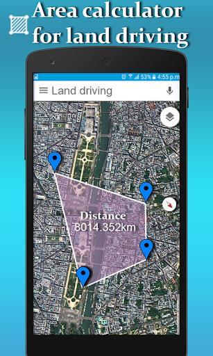 Gps Area  Calculator  for Land Measurement - عکس برنامه موبایلی اندروید