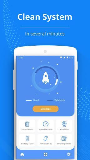 Rocket Cleaner - System Optimizer - عکس برنامه موبایلی اندروید
