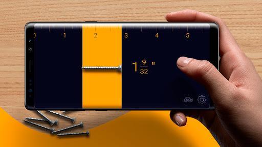 Ruler App – Camera Tape Measure - Image screenshot of android app