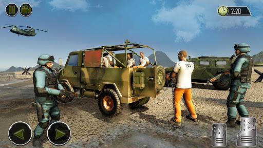 US Army Prisoner Transport Plane: New Army Games - عکس بازی موبایلی اندروید