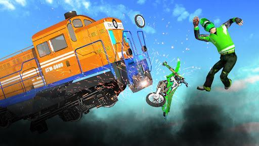 Bike vs. Train – Top Speed Train Race Challenge - عکس برنامه موبایلی اندروید