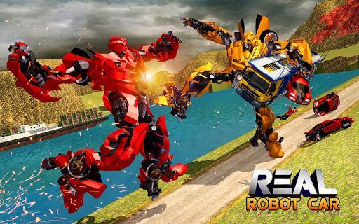 US Robot Transform Car: Robot Transport Games 2020 - عکس برنامه موبایلی اندروید