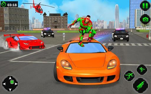 Light Robot Superhero Rescue Mission 2 - عکس برنامه موبایلی اندروید