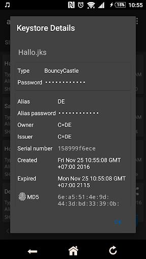 apk-signer - عکس برنامه موبایلی اندروید