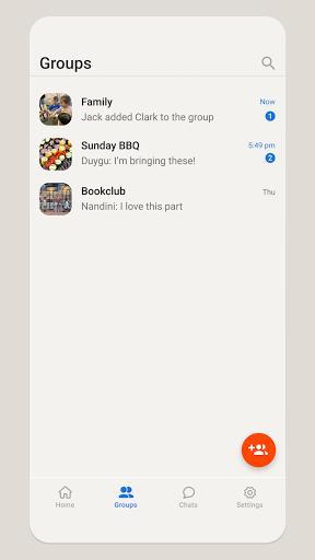 HalloApp – پیامرسان هالو اپ - عکس برنامه موبایلی اندروید