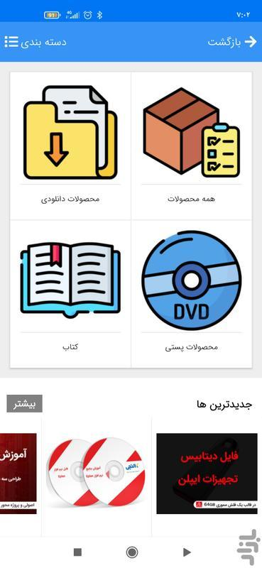 کالنجی - آموزش برق - عکس برنامه موبایلی اندروید