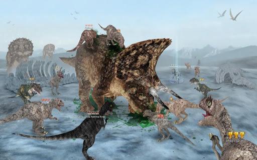 Dinos Online - عکس بازی موبایلی اندروید