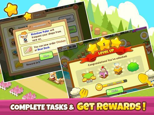 Restaurant Paradise: Sim Builder - عکس بازی موبایلی اندروید