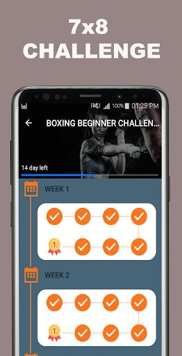 Kickboxing Fitness Trainer - Lose Weight At Home - عکس برنامه موبایلی اندروید