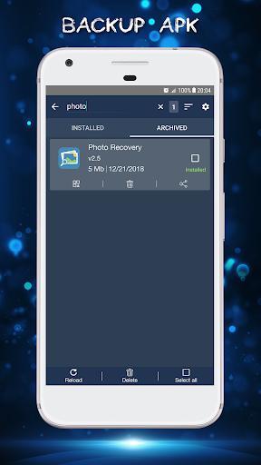 Backup Apk - Extract Apk - عکس برنامه موبایلی اندروید