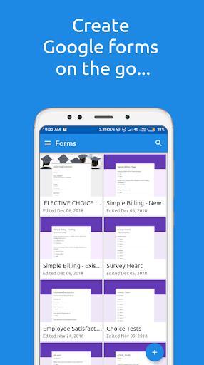 FormsApp - عکس برنامه موبایلی اندروید