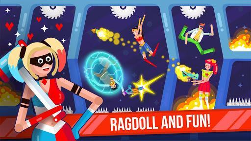 Ragdoll Rage: Heroes Arena - عکس بازی موبایلی اندروید