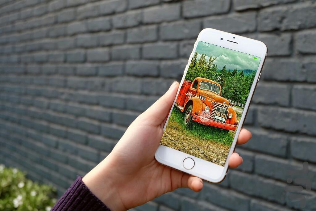 قفل اثر انگشت واقعی - Image screenshot of android app