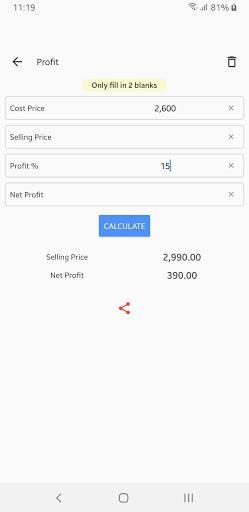 Financial Calculations - عکس برنامه موبایلی اندروید