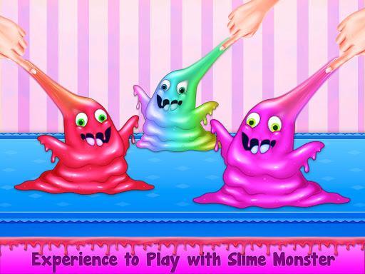 Rainbow Unicorn Slime Maker - Jelly Toy Fun - عکس برنامه موبایلی اندروید