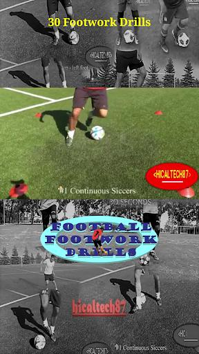 Soccer Footwork Drills - عکس برنامه موبایلی اندروید