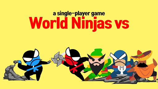 Jumping Ninja Battle - Two Player battle Action - عکس بازی موبایلی اندروید