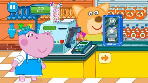 Cashier in the supermarket. Games for kids - عکس بازی موبایلی اندروید