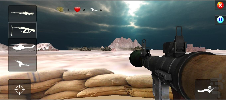 خط آتش - عکس بازی موبایلی اندروید