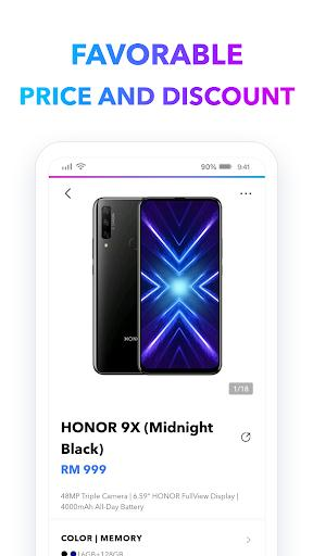 Honor Store - فروشگاه گوشی و لوازم جانبی - عکس برنامه موبایلی اندروید