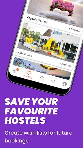 Hostelworld: Hostels & Backpacking Travel App - عکس برنامه موبایلی اندروید
