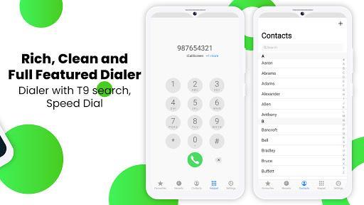 iCallScreen - OS14 Phone X Dialer Call Screen OS15 - عکس برنامه موبایلی اندروید