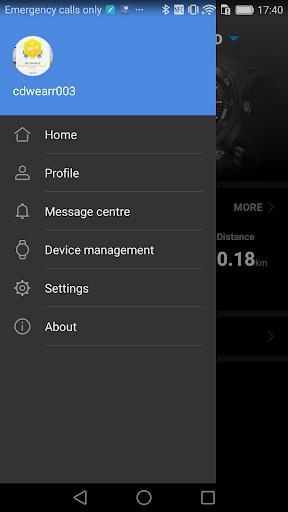 Huawei Wear - عکس برنامه موبایلی اندروید