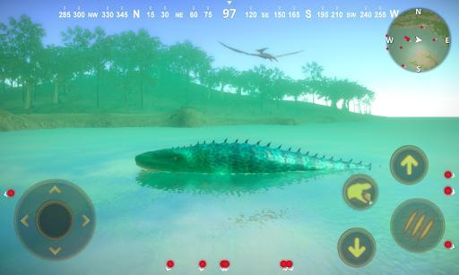Talking Mosasaurus - عکس برنامه موبایلی اندروید