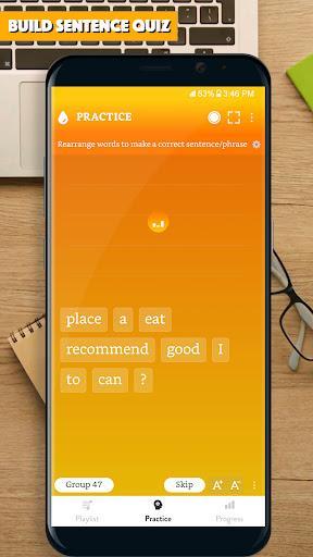 English Sentence Master: Learn English sentences - عکس برنامه موبایلی اندروید
