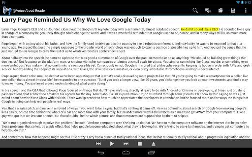 @Voice Aloud Reader (TTS Reader) - عکس برنامه موبایلی اندروید