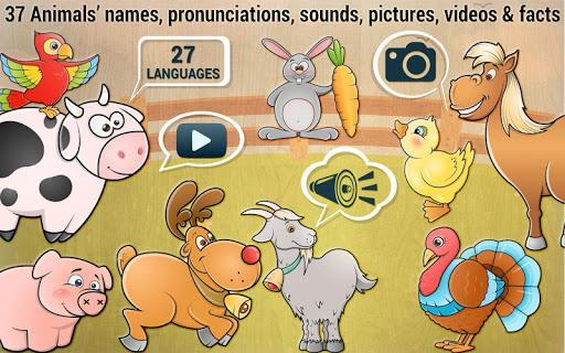 Toddler Kids puzzle game - Animals - عکس بازی موبایلی اندروید