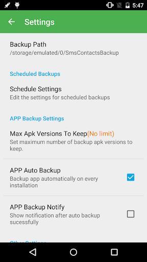 Super Backup & Restore - عکس برنامه موبایلی اندروید