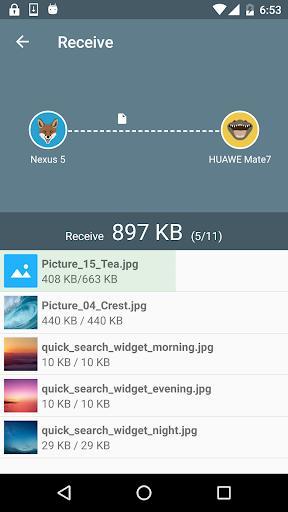 Easy Share : WiFi File Transfer - عکس برنامه موبایلی اندروید