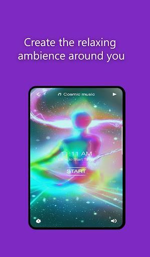 Om chanting: Healing, Meditation Music - عکس برنامه موبایلی اندروید