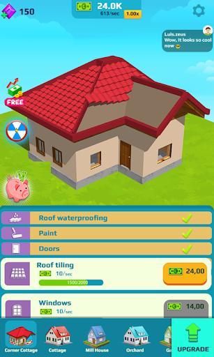 Idle Home Makeover - عکس بازی موبایلی اندروید