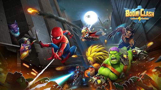 Boom Clash: Heroes Battle Royale - عکس بازی موبایلی اندروید