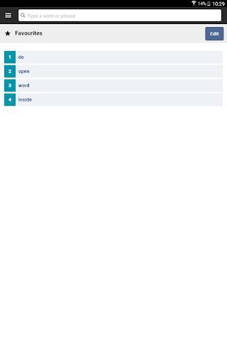 Cambridge English-Arabic Dictionary - عکس برنامه موبایلی اندروید