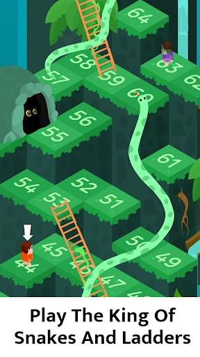 🐍 Snakes and Ladders - Free Board Games 🎲 - عکس بازی موبایلی اندروید