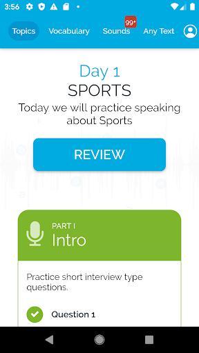 IELTSAce - Instant IELTS speaking score - عکس برنامه موبایلی اندروید