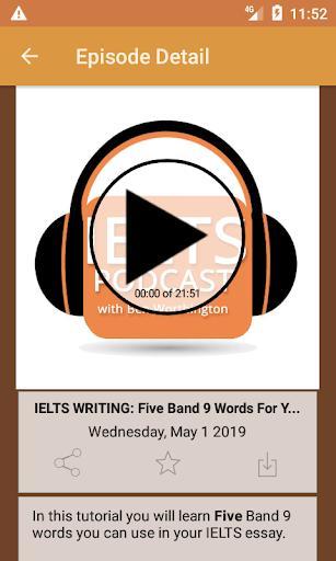 IELTS Podcast - عکس برنامه موبایلی اندروید
