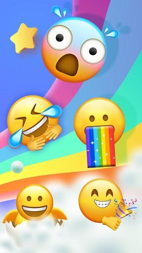 Funky Cool Emoji Stickers - عکس برنامه موبایلی اندروید