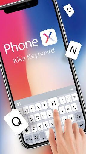 Phone X Emoji Keyboard - عکس برنامه موبایلی اندروید