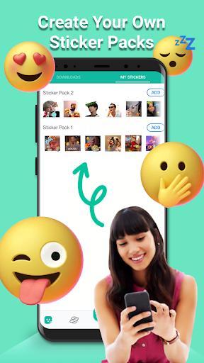 Sticker Maker - Make Sticker for WAStickers - عکس برنامه موبایلی اندروید
