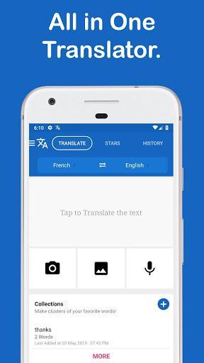 Camera Translator: Photo Translate all languages - عکس برنامه موبایلی اندروید