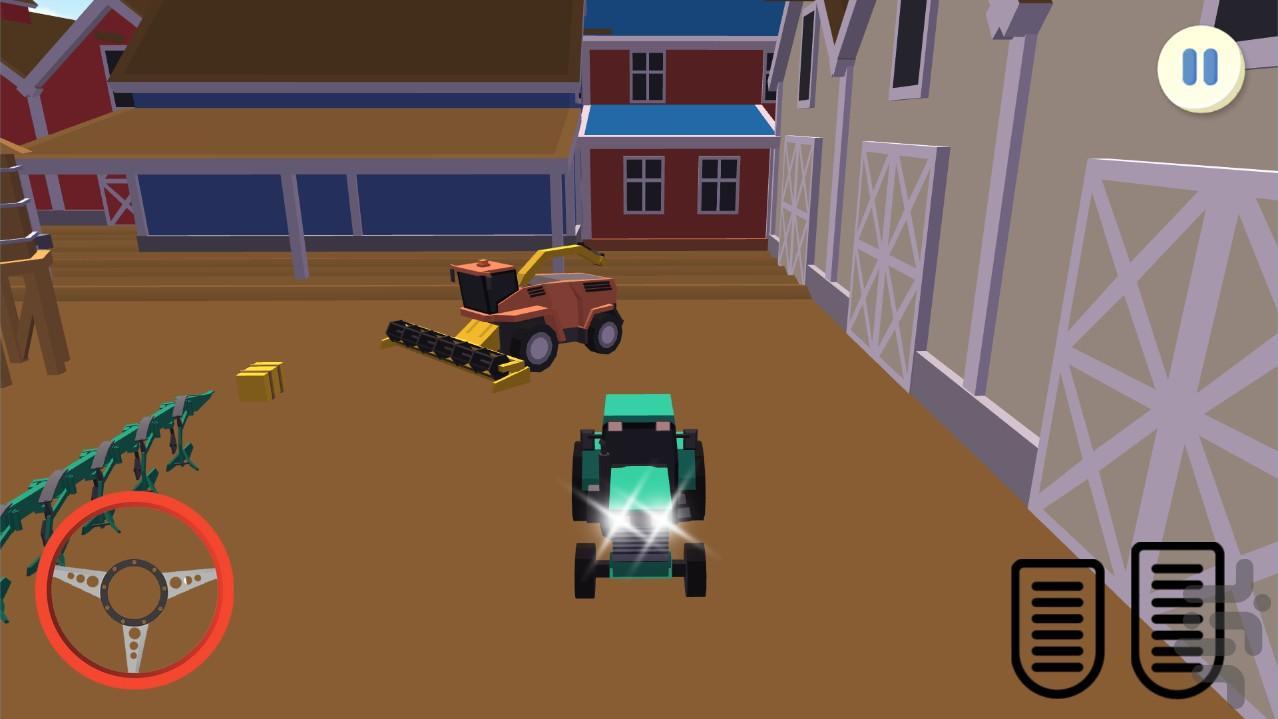 پارکینگ در مذرعه - عکس بازی موبایلی اندروید