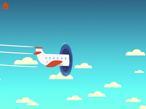 Dinosaur Airport - Flight simulator Games for kids - عکس بازی موبایلی اندروید