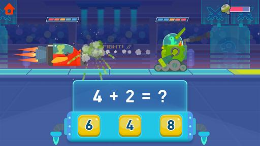 Dinosaur Math - Learning Games for kids toddlers - عکس بازی موبایلی اندروید