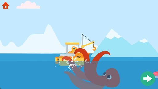 Dinosaur Patrol Boat - Coast Guard Games for kids - عکس بازی موبایلی اندروید