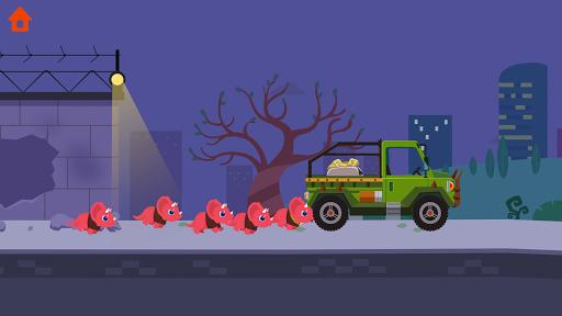 Dinosaur Police Car - Police Chase Games for Kids - عکس بازی موبایلی اندروید