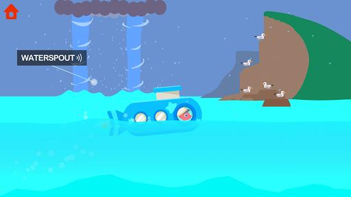 Dinosaur Submarine: Games for kids & toddlers - عکس بازی موبایلی اندروید